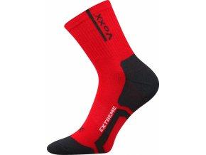 Ponožky VoXX Josef červená