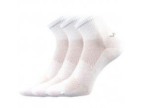 Ponožky VoXX 3 kusy v balení Metym Bílá