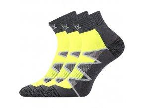 Ponožky VoXX 3 kusy v balení Monsa žlutá