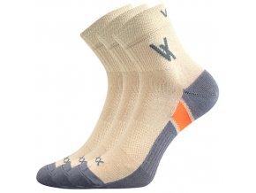 Ponožky VoXX 3 kusy v balení Neo béžová