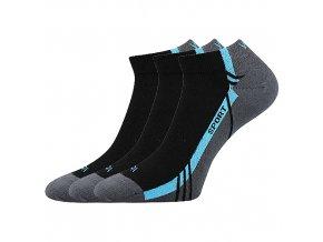 Ponožky VoXX 3 kusy v balení pinas černá
