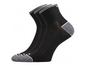 Sportovní Ponožky VoXX 3 kusy v balení Ray černá