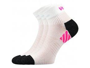 Sportovní Ponožky VoXX 3 kusy v balení Raymond bílá