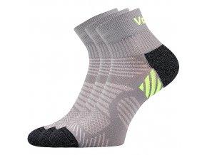 Sportovní Ponožky VoXX 3 kusy v balení Raymond šedá