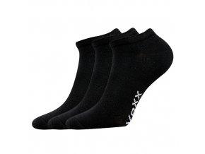 Sportovní Ponožky VoXX 3 kusy v balení Rex černá
