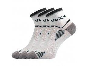 Sportovní Ponožky VoXX 3 kusy v balení Sirius bílá