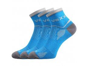 Sportovní Ponožky VoXX 3 kusy v balení Sirius modrá