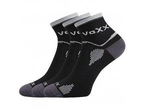Sportovní Ponožky VoXX 3 kusy v balení Sirius černá