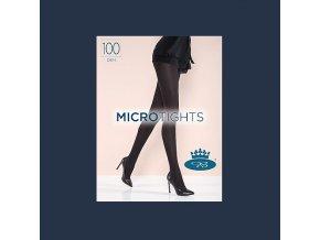 Punčochové kalhoty Boma Micro Tights 100 den Black Iris