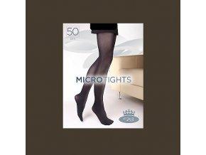 Punčochové kalhoty Boma Micro Tights 50 den chocolate