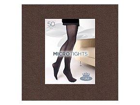 Punčochové kalhoty Boma Micro Tights 50 den deep taupe