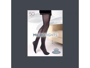 Punčochové kalhoty Boma Micro Tights 50 den iron gate