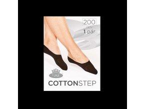 Bavlněné Ťapky Boma Cotton Step 200 den nero
