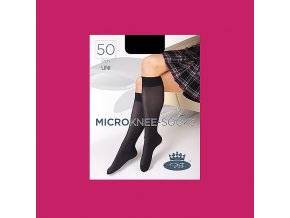 Podkolenky Boma MICRO knee socks 50 DEN pink peacock
