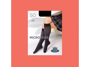 Podkolenky Boma MICRO knee socks 50 DEN living coral