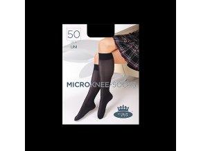 Podkolenky Boma MICRO knee socks 50 DEN nero