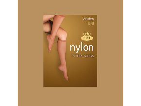 Podkolenky 2 páry v balení Boma LADYknee socks 20 DEN Beige