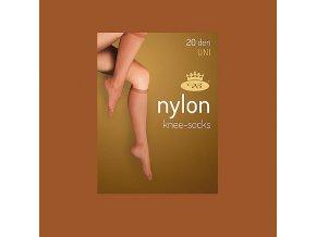 Podkolenky 2 páry v balení Boma LADYknee socks 20 DEN Visone
