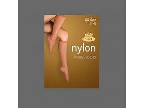 Podkolenky 2 páry v balení Boma LADYknee socks 20 DEN Fumo