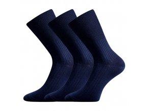 Zdravotní ponožky 3 kusy v balení VoXX Zdrav tmavě modrá