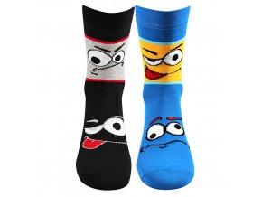 Dětské ponožky 2 páry v balení VoXX Tlamík mix a kluk