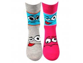 Dětské ponožky 2 páry v balení VoXX Tlamík mix b holka