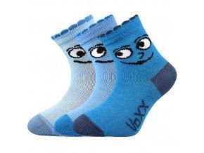 Kojenecké ponožky 3 páry v balení Boma Kukik kluk