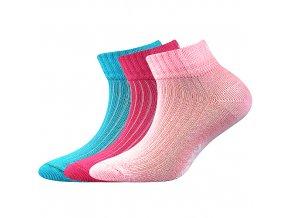 Dětské ponožky 3 páry v balení VoXX Setra mix A