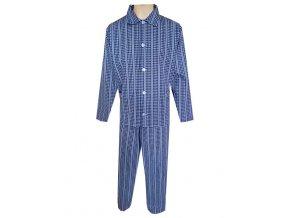 Pánské Pyžamo Plátěné Nadměrné FOLTÝN PPN16