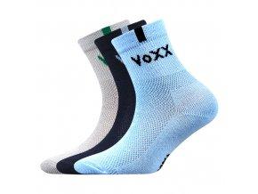 Dětské ponožky 3 kusy v balení VoXX Fredík mix vzorů B