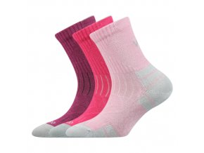 Dětské bambusové ponožky 3 kusy v balení VoXX Belkinik mix barev A