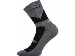 Bambusové sportovní Ponožky VoXX Bambo tmavě šedá