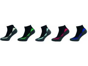 Bambusové ponožky 5 kusů v balení Novia Bambus 262 F Sport