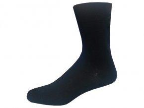 Bambusové ponožky 5 kusů v balení Novia Bambus černá