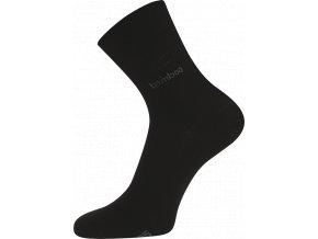 Bambusové ponožky Boma Kristián černá