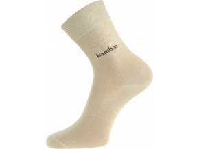 Bambusové ponožky Boma Kristián béžová