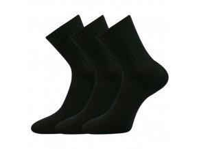 Zdravotní ponožky 3 kusy v balení VoXX Diarten černá