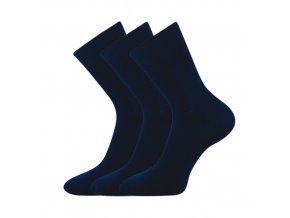 Zdravotní ponožky 3 kusy v balení VoXX Eduard tmavě modrá