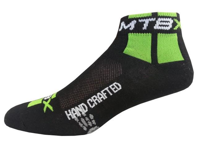Sportovní Ponožky NOVIA Cyklo MTB zelená Velikost: 44-45