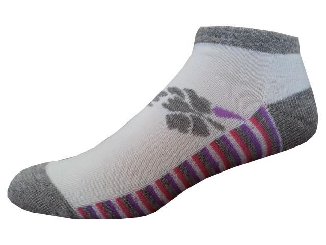 Sportovní Ponožky NOVIA Sport Collection Poloplyš šedorůžová Velikost: 38-40