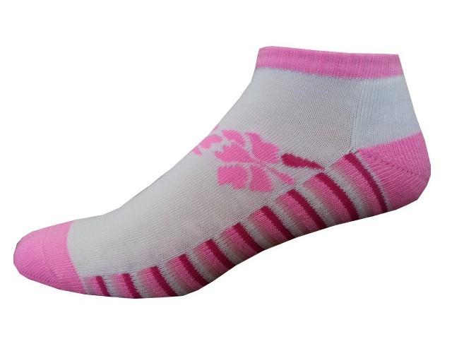 Sportovní Ponožky NOVIA Sport Collection Poloplyš růžová Velikost: 38-40