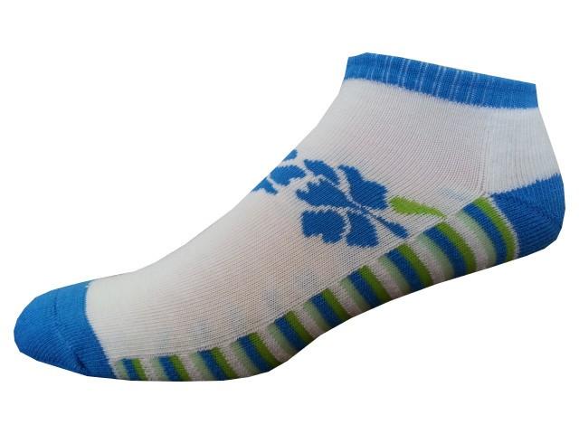 Sportovní Ponožky NOVIA Sport Collection Poloplyš modrozelená Velikost: 38-40