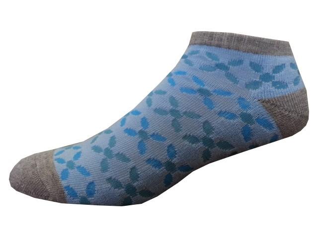 Sportovní Ponožky NOVIA Sport Collection Poloplyš modrá Velikost: 38-40