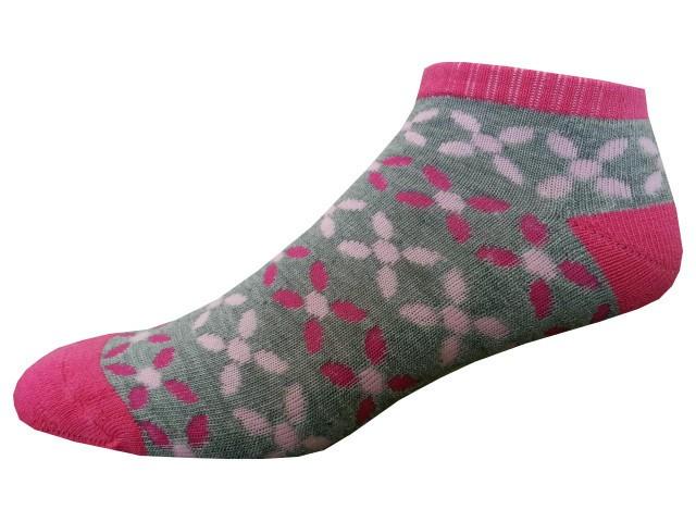 Sportovní Ponožky NOVIA Sport Collection Poloplyš šedá Velikost: 38-40