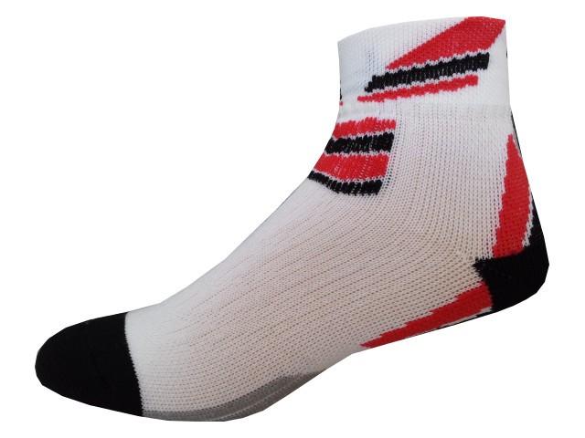 Sportovní Ponožky NOVIA Sport Collection Total červená Velikost: 44-45