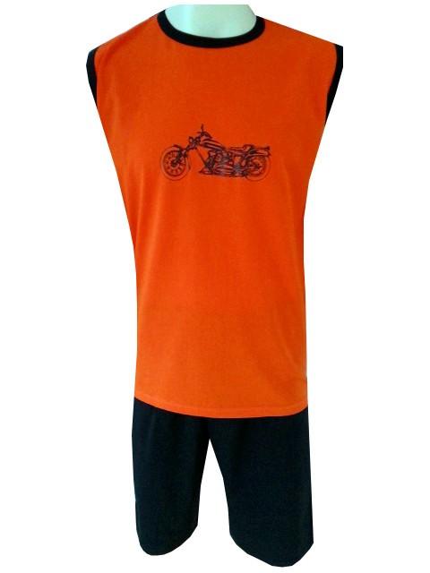Pánské Pyžamo Krátké FOLTÝN PK 65 Velikost: 2XL