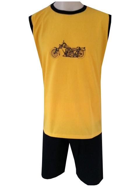 Pánské Pyžamo Krátké FOLTÝN PK 63 Velikost: 2XL