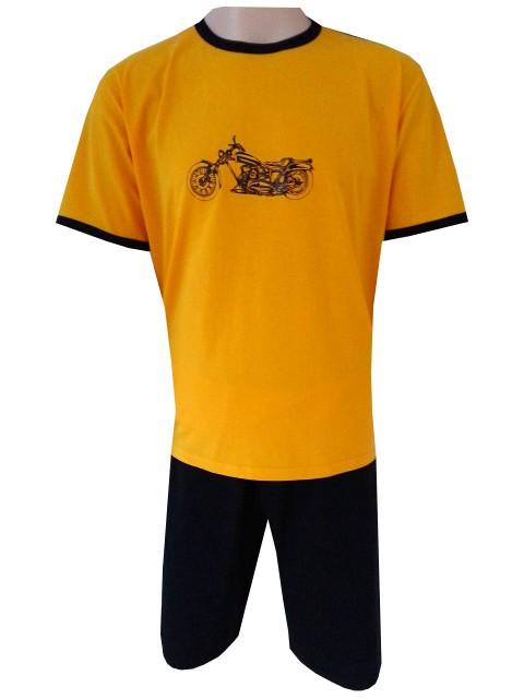Pánské Pyžamo Krátké FOLTÝN PK 62 Velikost: 2XL