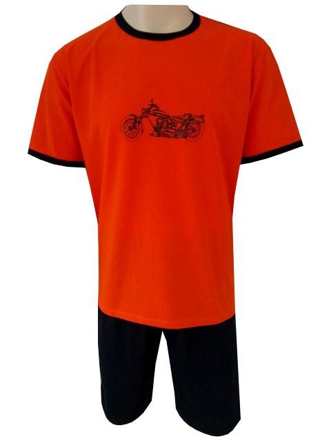 Pánské Pyžamo Krátké FOLTÝN PK 61 Velikost: 2XL