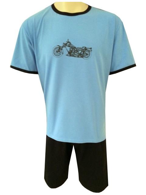 Pánské Pyžamo Krátké FOLTÝN PK 60 Velikost: 2XL